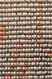 Woven cotton textile Stock Image
