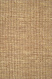 Woven cotton yarn  background. Detail of woven cotton yarn placemat Stock Photography