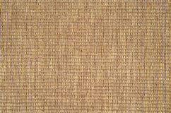 Woven cotton yarn  background. Detail of woven cotton yarn placemat Royalty Free Stock Image