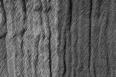 Woven crinkled Fabric in grey tones Royalty Free Stock Photos