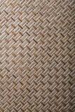 Woven crisscross place matting vertical version Stock Images