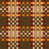 Woven crisscross plaid pattern seamless Stock Photography