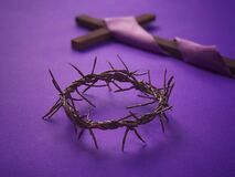 Good Friday, Lent Season, Palm Sunday, Ash Wednesday and Holy Week concept.