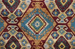 Woven fabrics Stock Photography