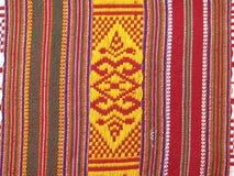 Woven fabrics thai Royalty Free Stock Photo