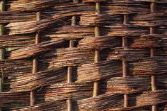 Woven fence Royalty Free Stock Image