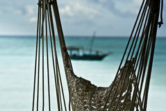 Woven Hammock Royalty Free Stock Images