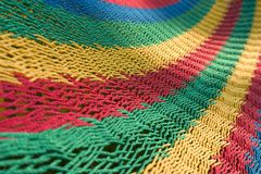Woven - Handmade Hammock royalty free stock photo