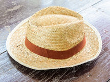 Woven hat Stock Photography