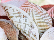 Woven hat Royalty Free Stock Photo