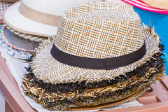 Woven hat. Stock Images