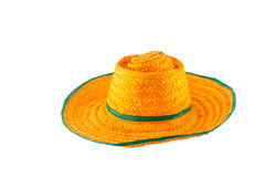 Woven hat Stock Image