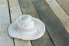 Woven hat Royalty Free Stock Photos