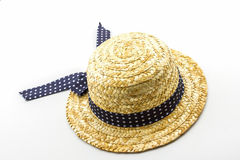 Woven hat Stock Images