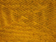 Woven jute background. Brown jute ropes woven together to make a cot or Charpai in India Stock Photos