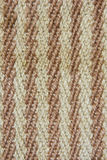 Woven jute fabric. Details of woven jute pattern, Bangladesh royalty free stock images