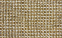 Woven jute fabric Royalty Free Stock Images