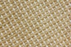 Woven jute fabric Stock Image