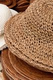 Woven and Knitted Hat Stock Images