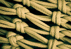 WOVEN KNOTS stock photography