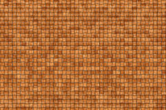 Woven leaves. Twisted woven leaves brown. Straight lines, close-up Stock Image