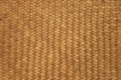 Woven mat background Stock Images
