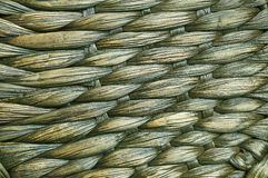 Woven mat of  tropical plants. Woven mat of fibers of tropical plants Stock Photography
