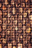 Woven metal background Royalty Free Stock Photo