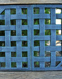 Woven Metal Mesh Grid Pattern Stock Image