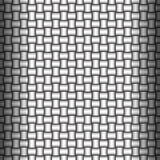 Woven Metallic Backdrop. Weave metallic Seamless pattern. Vector Illustration Stock Photos