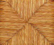 Woven natural wicker background Royalty Free Stock Photo