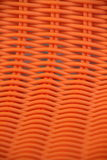Woven,orange  background Stock Photo