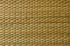 Woven palm leaves Royalty Free Stock Image