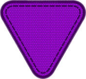 Woven patch Royalty Free Stock Images