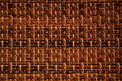 Woven Pattern. Brown woven pattern background texture Royalty Free Stock Photography