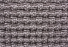 Woven Pattern Background Stock Photo