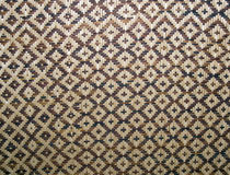 Woven pattern - squares Stock Images