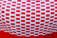 Woven from plastic background Royalty Free Stock Image