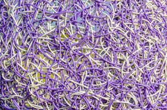 Woven plastic material Stock Image