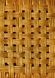 Woven rattan background  Royalty Free Stock Image