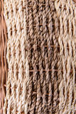 Woven rattan background Royalty Free Stock Photos