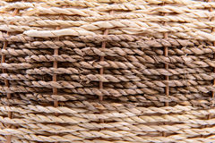 Woven rattan background Stock Image