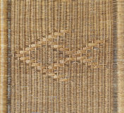 Woven rattan with a fish in the middle. background texture Royalty Free Stock Photography