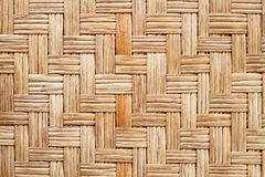 woven rattan mat for pattern and background Royalty Free Stock Photography