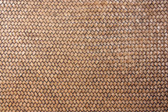 Woven rattan with natural patterns. Royalty Free Stock Image