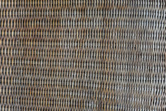 Woven rattan with natural patterns Royalty Free Stock Photos