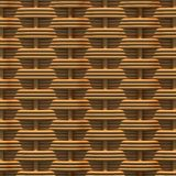 Woven rattan with natural patterns Royalty Free Stock Photo