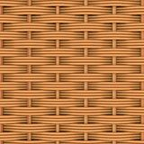 Woven rattan with natural patterns Royalty Free Stock Image