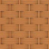Woven rattan with natural patterns Stock Image