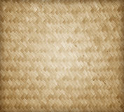 Woven rattan with natural patterns Stock Photography